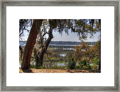 Hilton Head Scenic Framed Print by Keith Wood