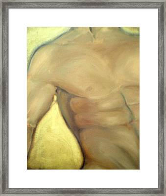 Him Framed Print by Sheila Tajima