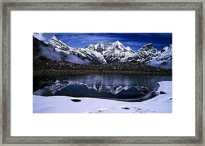 Himalayas Framed Print by Greg Palmer