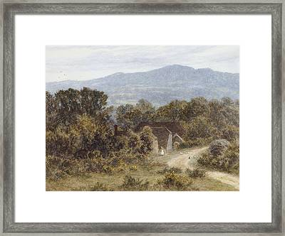 Hindhead From Sandhills Witley Framed Print by Helen Allingham