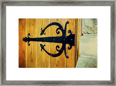 Hinged Framed Print by Cathie Tyler