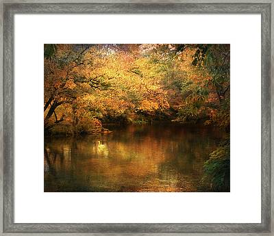 Hint Of September Framed Print by Jai Johnson