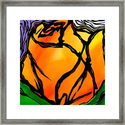 Hint Of Spring Two Framed Print
