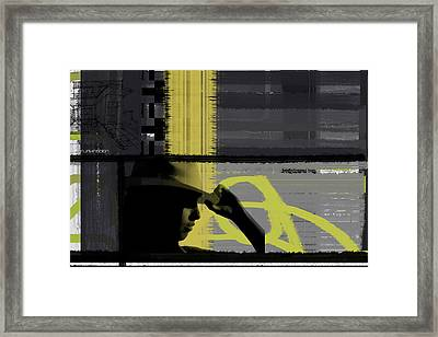 Hip Arch Framed Print by Naxart Studio