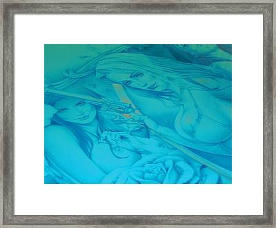 Hipnotic Framed Print by Chuck Re