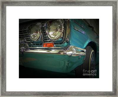 Hipnotic Front Framed Print by Chuck Re