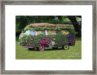 Hippy Framed Print