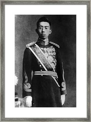 Hirohito 1901-1989, Emperor Of Japan Framed Print by Everett