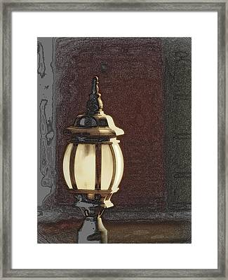 Framed Print featuring the photograph His Guiding Light by Cindy Wright