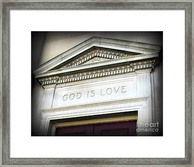 Framed Print featuring the photograph His House by Nancy Dole McGuigan