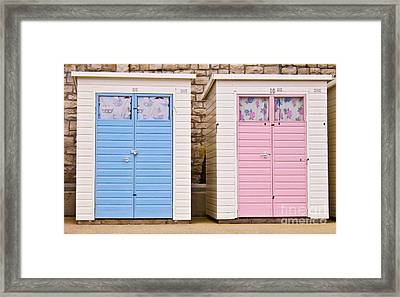 His N Hers Framed Print by Jo