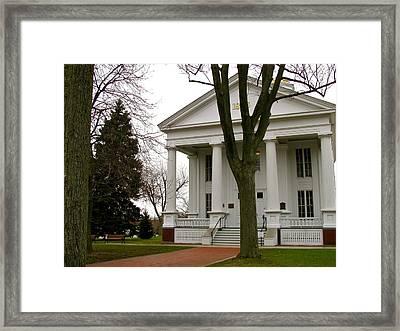 Historic Courthouse Framed Print