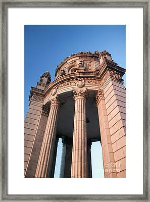 Historic Jewelers Building  Framed Print by Christopher Purcell
