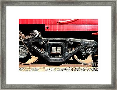 Historic Niles District In California Near Fremont . Western Pacific Caboose Train . 7d10625 Framed Print by Wingsdomain Art and Photography