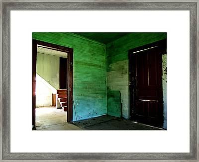 Historic Shell  Framed Print by Tammy Cantrell
