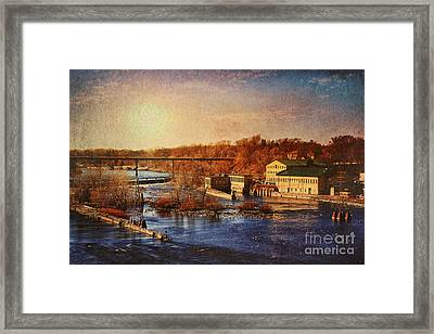 Historic Vulcan Paper Mill Framed Print by Joel Witmeyer