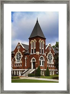 Historical 1901 Uab Spencer Honors House - Birmingham Alabama Framed Print by Kathy Clark