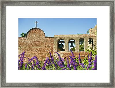 Historical Bells Framed Print by Diana Cox