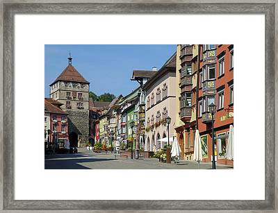 Historical Old Town Rottweil Germany Framed Print by Matthias Hauser