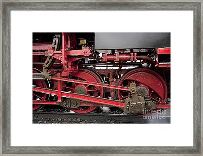 Historical Steam Train Framed Print