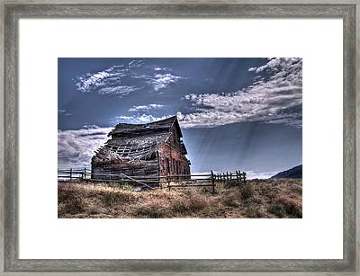 History In Osoyoos Framed Print