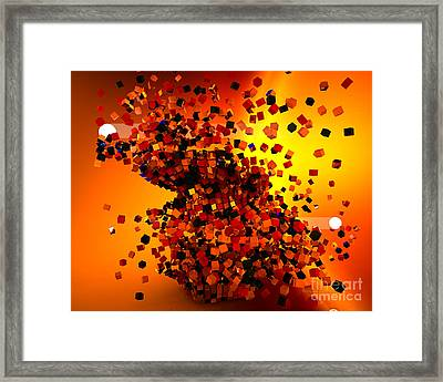 Hit High And Low Framed Print