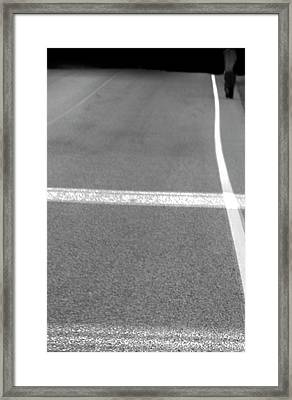 Hitch Hiker Framed Print by Empty Wall