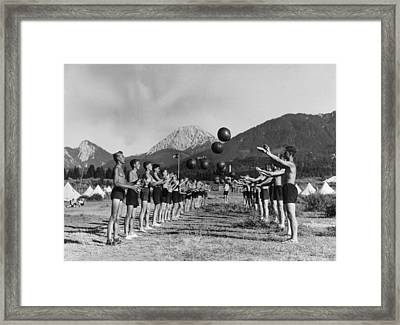 Hitler Youth Framed Print by Keystone