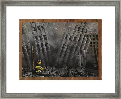 Hitting Home Framed Print by Josh Bernstein