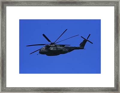 Hm-14 Sea Dragon Framed Print by Christopher Kirby