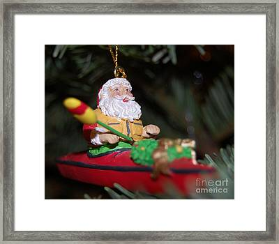 Ho Ho Ho Framed Print by Debbi Granruth