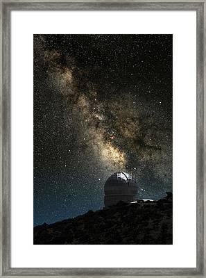 Hobby-eberly Telescope Framed Print