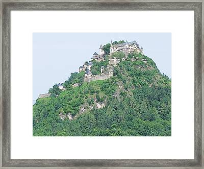 Framed Print featuring the photograph Hochosterwitz Castle Austria by Joseph Hendrix