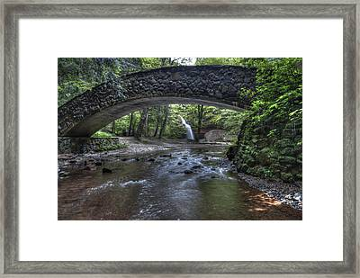 Hocking Bridge Framed Print