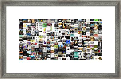 Hodgepodge Framed Print by Holley Jacobs