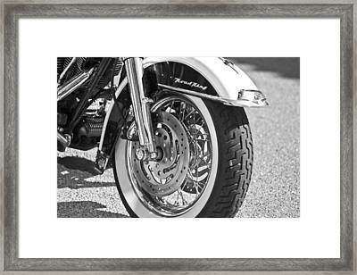 Hog Wheels Framed Print