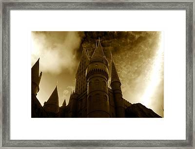 Hogwarts Castle Framed Print by David Lee Thompson