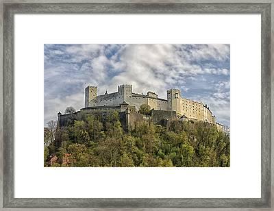 Hohensalzburg Castle Framed Print by Lauri Novak