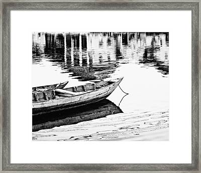 Hoi An Fishing Boats Framed Print