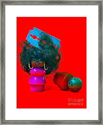 Hold My Baby Framed Print by Ricky Sencion