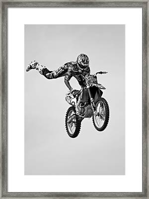 Hold On Framed Print by Simon Brooke