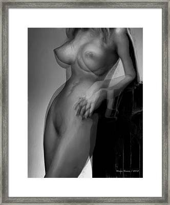 Hold On Framed Print by Wayne Bonney