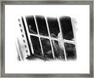 Hold Tight Framed Print