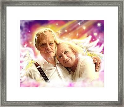 Holden.angelic  Framed Print