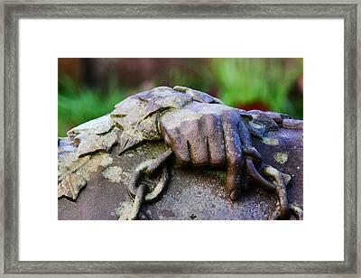 Holding A Memory Framed Print by John Dunbar