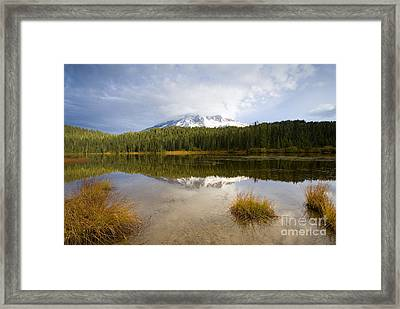 Holding Back The Tempest Framed Print by Mike  Dawson