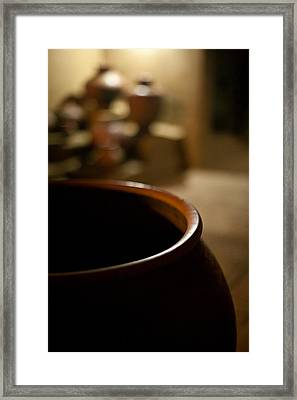 Holding Framed Print by Mike Reid