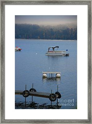 Holding On To Summer Framed Print by Michael Mooney