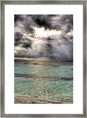 Framed Print featuring the photograph Hole by Andrea Barbieri