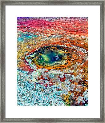 Hole In The Ground Framed Print
